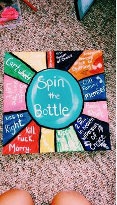 Party games for teens spin the bottle 38 Ideas de fiesta para adolescentes Things To Do At A Sleepover, Fun Sleepover Ideas, Sleepover Activities, Things To Do When Bored, Sleepover Party, Games For Sleepovers, Teen Party Games, Fun Games, College Party Games