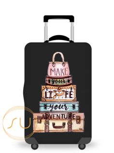 Travel Luggage Cover Spandex Suitcase Protector Washable Baggage Covers Black Lives Matter
