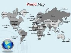27 Best Interactive Powerpoint Maps Of Usa Images Map Background
