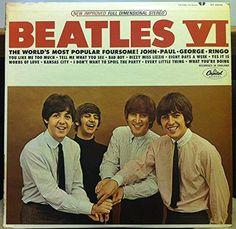 THE BEATLES VI vinyl record Rare New Copy