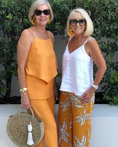 womens fashion over 40 white blouses - Summer Outfits Summer Outfits Women Over 40, Clothes For Women Over 50, Cool Summer Outfits, Casual Summer, Fashion For Women Over 40, 50 Fashion, Look Fashion, Fashion Outfits, Petite Fashion