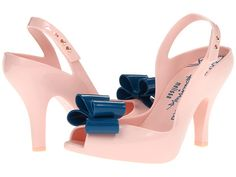 I would risk falling on my face for these shoes. They are so cute.   Vivienne Westwood Anglomania + Melissa Lady Dragon IX Pink/Blue - Zappos.com Free Shipping BOTH Ways