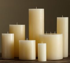 pb pillar candle - ivory | Pottery Barn