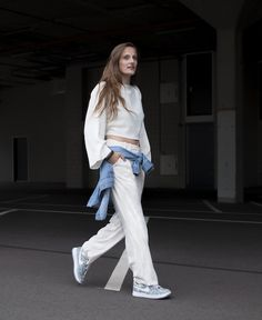Babette grunder, digital editor Glamour, white look fashion