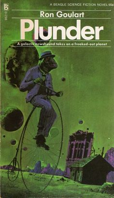 Cover for the 1972 edition of Plunder (1972), Ron Goulart