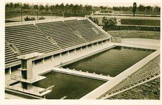 Berlin 1936 Schwimmstadion auf dem Reichssportfeld
