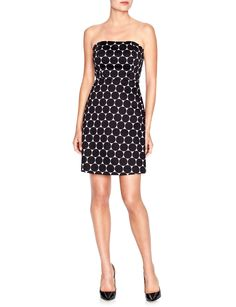 Strapless Dot Dress | Women's Dresses | THE LIMITED  #thelimited
