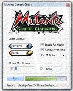 mutants genetic gladiator cheats