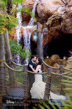 Showcase your love against fairy tale backdrops in Disney's Magic Kingdom