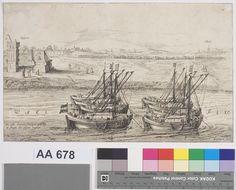 Tocht ofte Reyse van de Schutterij van Leijden naer de Stad Grave in Sept. 1622 - C.J. Liefrinck, N.J. Visscher - 1622  Maat: 20,6cm x 34,1cm  Materiaal: drukinkt op papier  Inventarisnummer: AA678