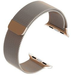 iWatch Strap Band Magnetic Clasp for Apple Watch - 38mm  Gold Stainless Steel US  | eBay