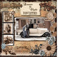 Bonnie and Clyde - Scrapbook.com