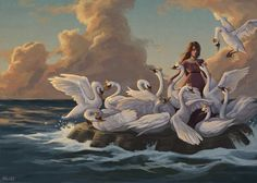 The Wild Swans by Kelley M aka. kelleybean86