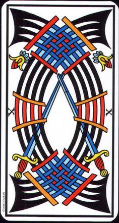 10 Swords - Tarot de Marseille (Camoin-Jodorowsky) - rozamira tarot - Picasa Web Albums