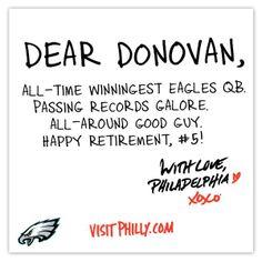 Donovan McNabb EAGLES, my love, always smiling, miss him!