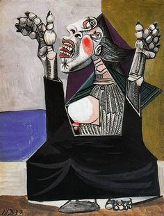 The Imploring, 1937 - Pablo Picasso.