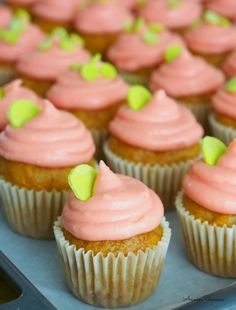 Cupcakes by Annin Uunissa = Carrot Cupcakes