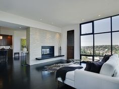 modern living room by Logan's Hammer Building & Renovation