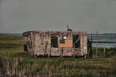 The only shack on the island...makes me smile every time.