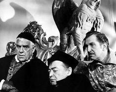 Boris Karloff, Vincent Price and Peter Lorre, The Raven 1963