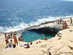 Thassos Natural Pool, Greece (4 foto)