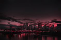 Red Night Panorama Buildings Lights And Red Sky Wallpaper, HD Nature Wallpapers, Images, Photos and Background 3840x2160 Wallpaper, Macbook Wallpaper, Aesthetic Desktop Wallpaper, Scenery Wallpaper, Tumblr Wallpaper, Aesthetic Backgrounds, Nature Wallpaper, Wallpaper For Laptop, Pastel Wallpaper
