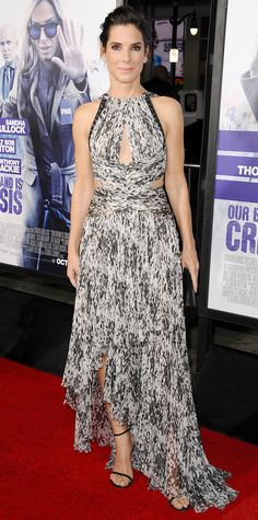 Look of the Day - Sandra Bullock  - from InStyle.com