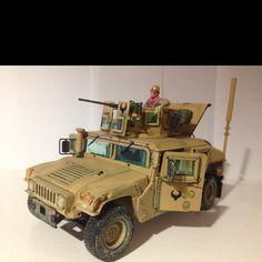 Academy 1/35 M1151 Enhanced Armament Carrier Humvee