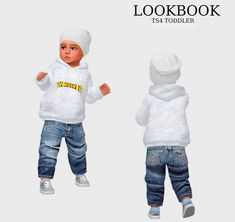 Hoodie By Link Jeans by Simfileshare (no ads) Link Basic Socks By Link Shoes By Link Hat by & Link CC credits genetics. Toddler Cc Sims 4, Sims 4 Toddler Clothes, Sims 4 Cc Kids Clothing, Sims 4 Mods Clothes, Toddler Outfits, Kids Outfits, Kids Clothes Boys, Toddler Shoes, Sims 3