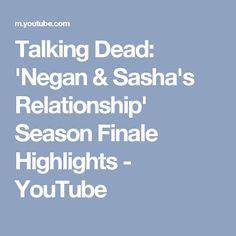 Talking Dead: 'Negan & Sasha's Relationship' Season Finale Highlights - YouTube