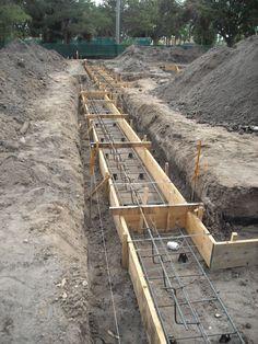 concrete foundation forms - Google Search