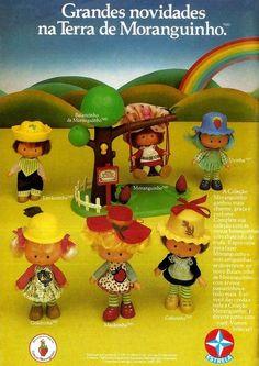 Turma da Moranguinho #infância #nostalgia