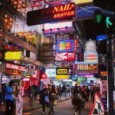 Mong Kok on a friday night, Hong Kong, December '12