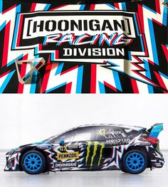 """43.9k Likes, 173 Comments - Ken Block (@kblock43) on Instagram: """"Here it is: my 2017 Hoonigan Racing by @DeathSpray Custom livery, as seen on my Ford Focus RS RX!…"""""""