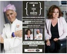 Show Cooking con Cristina Bowerman, chef stellato di Glass hostaria, introdotto da Paolo Marchi, ideatore di identità golose e Laura Delli Colli, gior...