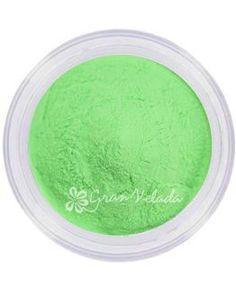 Pigmento para manualidades, Verde Fotoluminiscente. (brilla en oscuridad)
