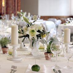 Eine Hochzeitdekoration mit mediterranem Flair - von www.tischleinschmueckdich.de
