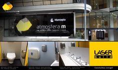 Veja os nossos produtos no espaço Atmosfera M, em Lisboa.  #Mediclinics #Bobrick #KoalaKare #Galo #WC #Arquitectura #Engenharia #Construção #AtmosferaM