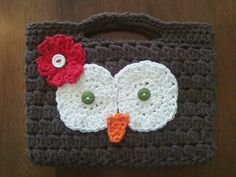 LOVE this one!  Crocheted Kindle case.  Maybe I could figure it out?