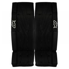Brians Netzero Sr. Goalie Leg Pads. Size: 34+1, Color: Black.