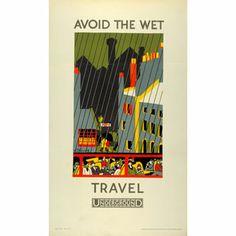 Avoid the Wet travel Underground - Kathleen Stenning