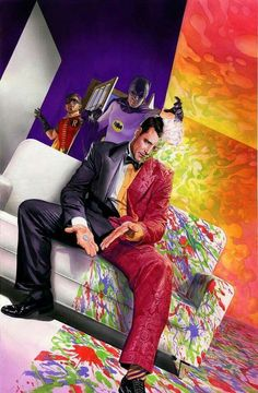 Batman '66 meets Two-Face                                                                                                                                                                                 More