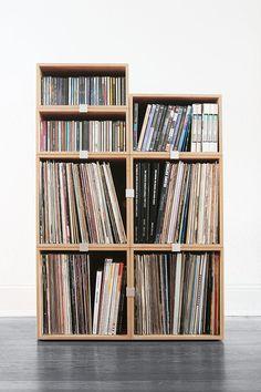 Schallplatten Cd Dvd Regal