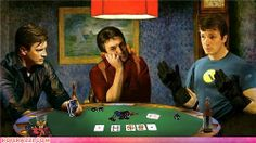 Celebrity Pictures - Nathan Fillion playing Poker