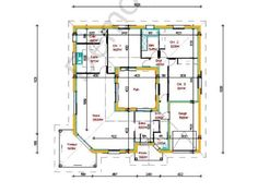1000 images about plans de maisons on pinterest floor plans house plans and small house plans. Black Bedroom Furniture Sets. Home Design Ideas