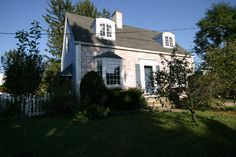 One couple made major home improvements to their home before they even thought about making it energy efficient. Insulating Basement Walls, Cape Cod Style House, White Wash Brick, Home Improvement Loans, Small House Design, Best Interior Design, Traditional House, Custom Homes, Home Remodeling