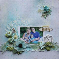 """Beautiful Family"" **C'est Magnifique January** - Scrapbook.com"