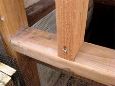 Add Studs to Hen House Wall Framing Chicken Coop Kit, Chicken Boxes, Chicken Nesting Boxes, Diy Chicken Coop Plans, Chicken Pen, Chicken Coup, Chicken Coop Designs, Building A Chicken Coop, Pet Chickens