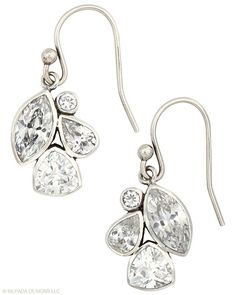 Must-have #Earrings for every look. #Cubic #Zirconia, #Sterling #Silver. #Silpada #Jewelry