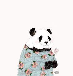panda flower crown - Google Search